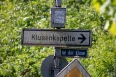 Hinweis Klusenkapelle