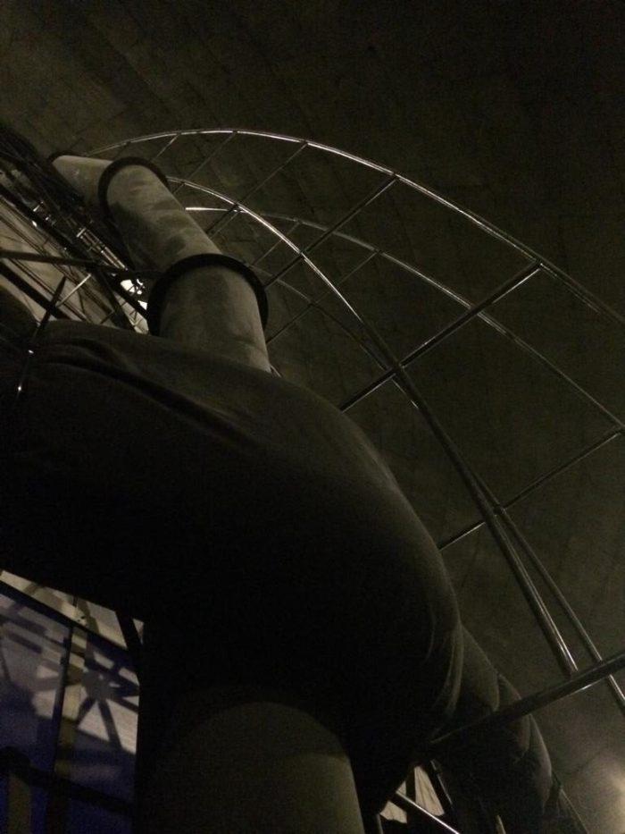 Blick hinter der Kuppel