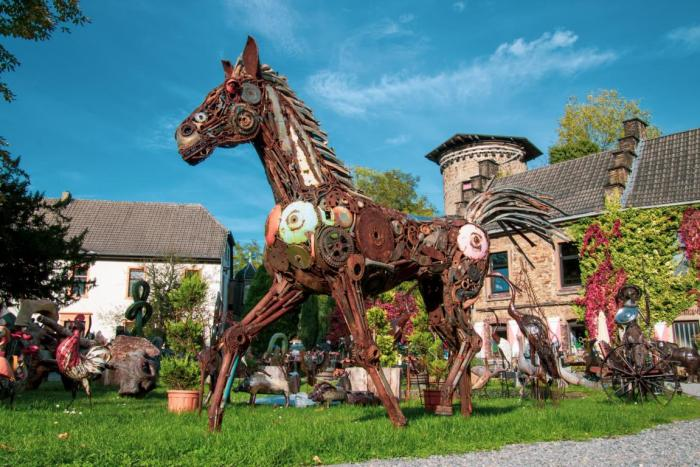 Kunstwerk Pferd