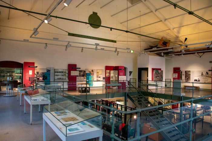 Ausstellung oben im Maschinenhaus