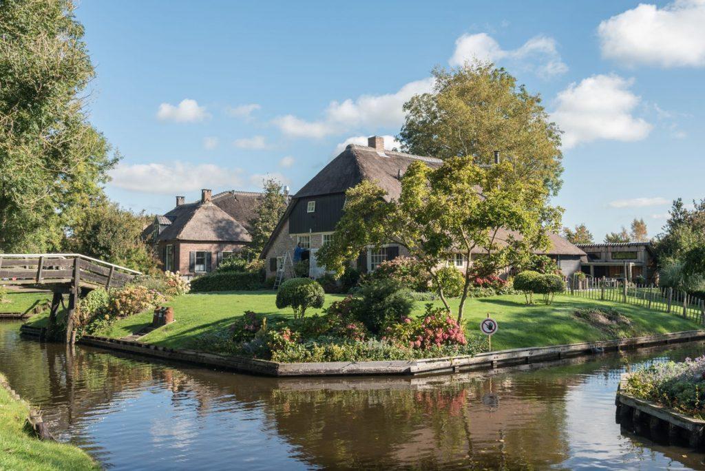 Kanal in Giethoorn