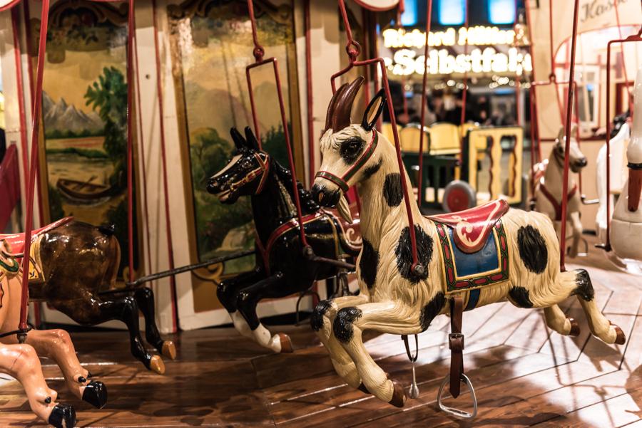Pferdekutsche Karusell Bochum Jahrmarkt