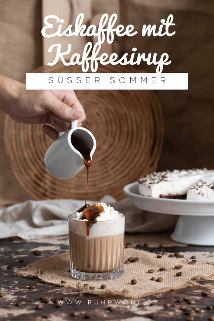 Anzeige Eiskaffee selber machen: Einfaches Rezept mit leckerem Kaffeesirup