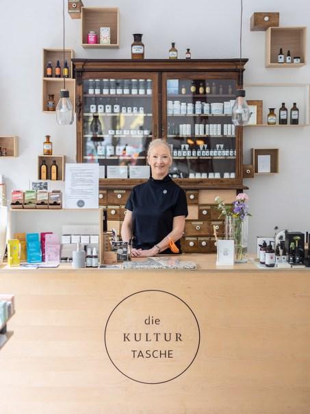 Kulturtasche Bochum: Drogerie und Concept Store von Susnne Töller mit kleinen und interessanten Labels, Seifen, Kosmetik, Bartpflege, Tee