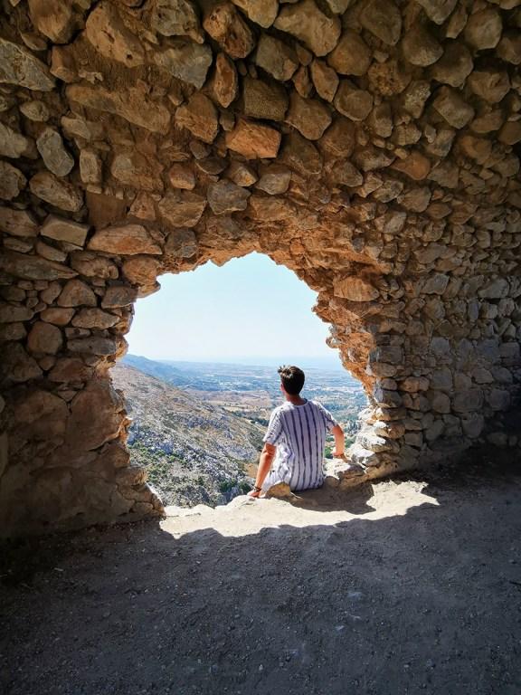 Burgfestung Palio Pyli auf Kos in Griechenland: Perfekter Blick über die Insel