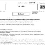 Ruído de baixa frequência – introdução da Norma DIN 45680:2013