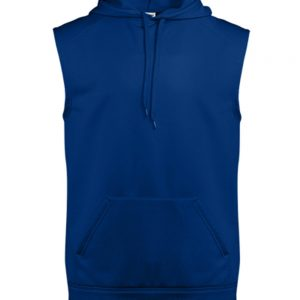Badger - Sleeveless Performance Fleece Hooded Pullover