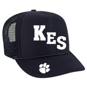 Kendall Elementary School High Crown Trucker Cap