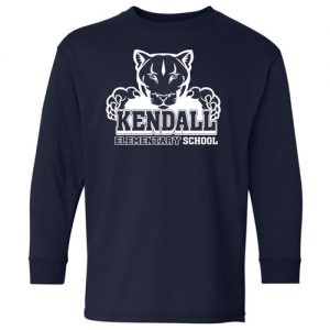 Youth Kendall Elementary School Long Sleeves T-Shirt