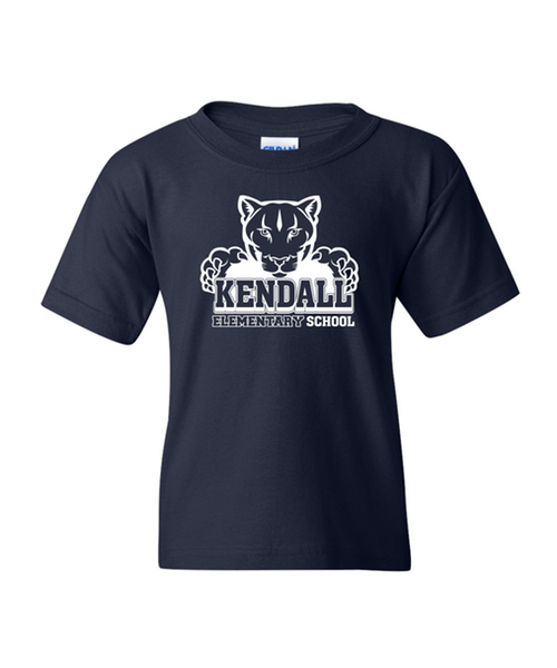 Youth Kendall Elementary School T-Shirt (Navy)