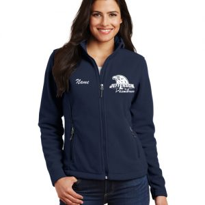 Jefferson Elementary Adult Ladies Full Zip Fleece