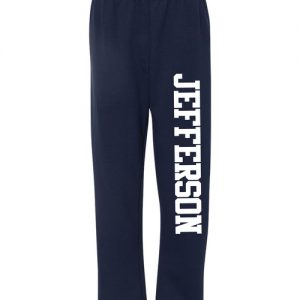 Jefferson Elementary Adult Open-Bottom Sweatpants with Pockets