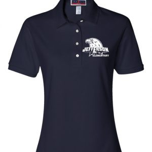 Jefferson Elementary Ladies Polo Shirt