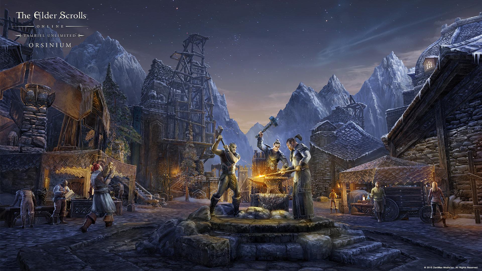 World Of Warcraft Wallpapers Hd The Elder Scrolls Online Concept Art Ruin Gaming