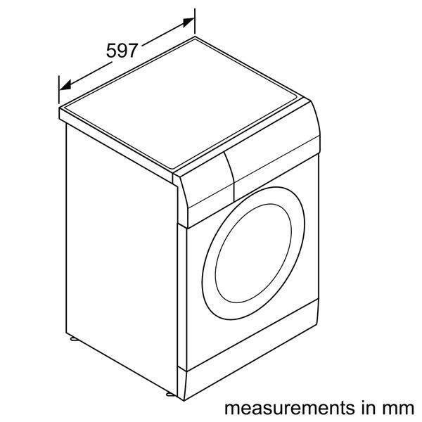 SIEMENS Washer Dryer 1400 Spin IQ500 White