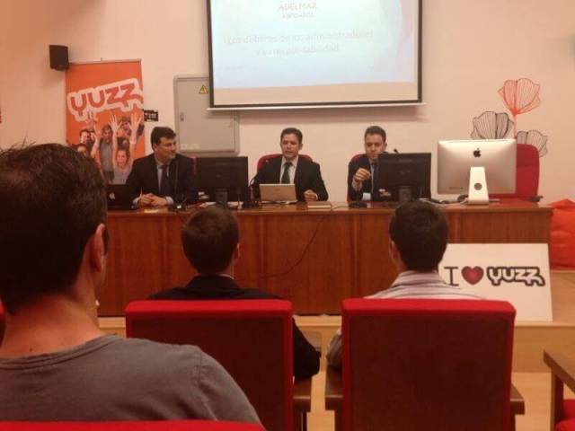 Charla para Emprendedores: Jesus Ruiz Ballesteros abogado economista