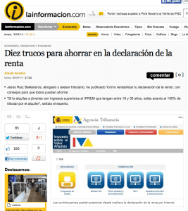 entrevista lainformacion.com Ruiz Ballesteros