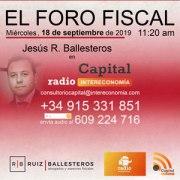 Foro Fiscal: 18 de septiembre de 2019