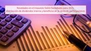 Novedades en el Impuesto Sobre Sociedades para 2021: distribución de dividendos interna y beneficios en la venta de participaciones