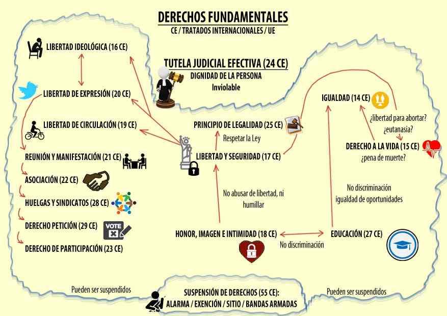 Conoce las 7 características de los derechos fundamentales