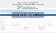 Tasa 790 012: El impuesto de expedición de la Tarjeta de Residencia