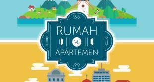 apartemen vs rumah