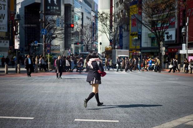 Hachiko Crossing, Tokyo, Japan