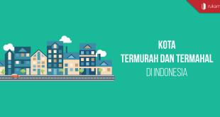 kota termurah dan termahal di indonesia