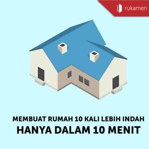 Membuat Rumah 10 Kali Lebih Indah Hanya Dalam 10 Menit