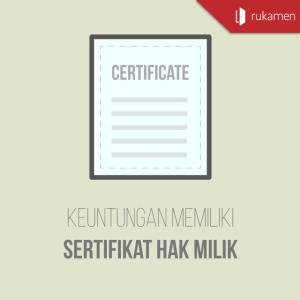 sertifikat hak milik