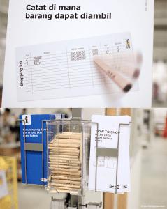 IKEA Indonesia Alam Sutera catat barang ambil sendiri