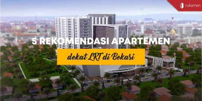 Apartemen dekat LRT