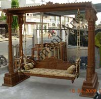 Code 42 Buy Carved Indian Maharaja Wooden Swings Wooden