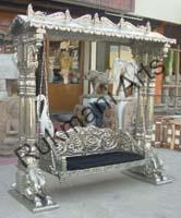 Code 68 Buy Carved Indian Maharaja Wooden Swings Wooden