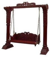 Code 92 Buy Carved Indian Maharaja Wooden Swings Wooden