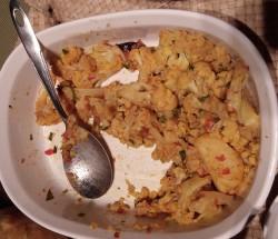 Cauliflower & Potatoes