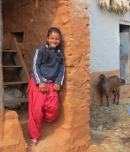 Saraswoti Smiling - Portfoilo Page Image