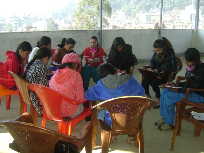 LitClub team during one of our first meetings.