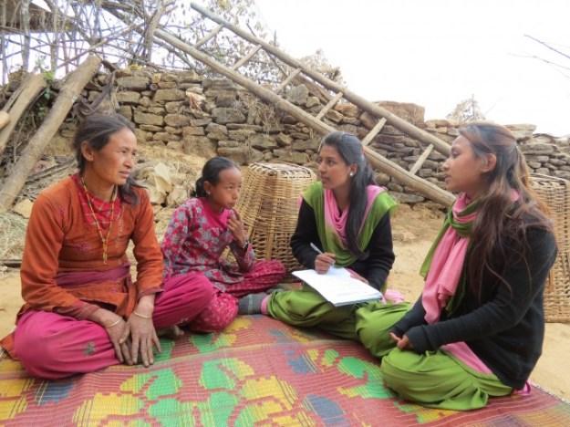 Meeting with Susmita Tamang and her Mother