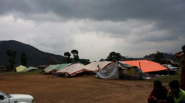 P_Tent at Pharping Ground