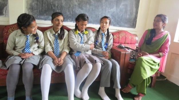 Ruku_DIdi_intereacting_with_Ruku_scholars_of_Setidevi_School_Sokhel