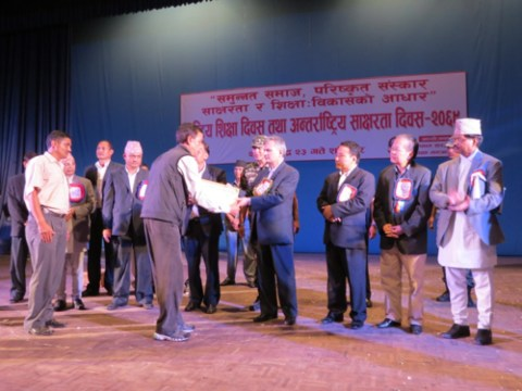 Key members of the Nepali government took part in this event.