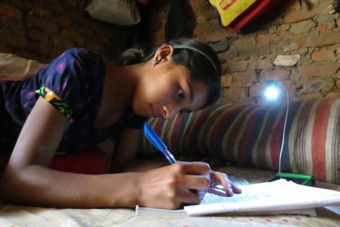 Asmita sunuwar with solar light (2)