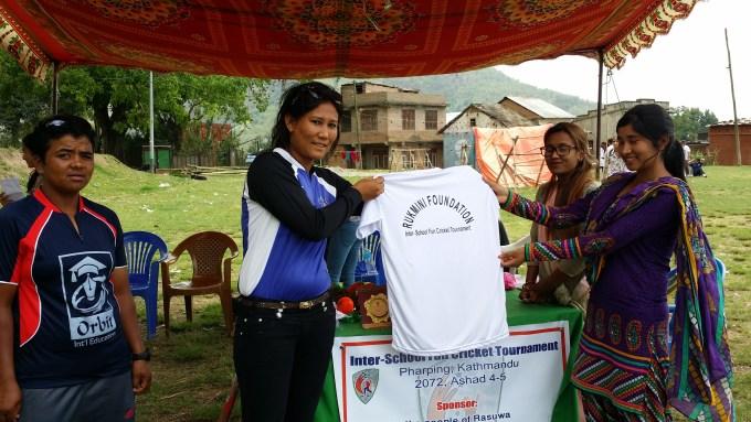 nepal national women cricket team captain Ms. Rubi Chhetri