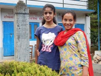 Rama and Anju in happy mood