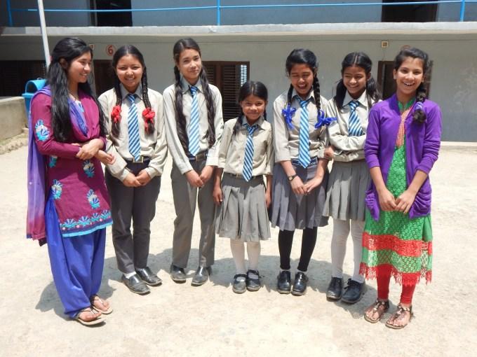 Sabina, Salina, Salina Shrestha, Ranjana, Asmita, Saru, Laxmi2