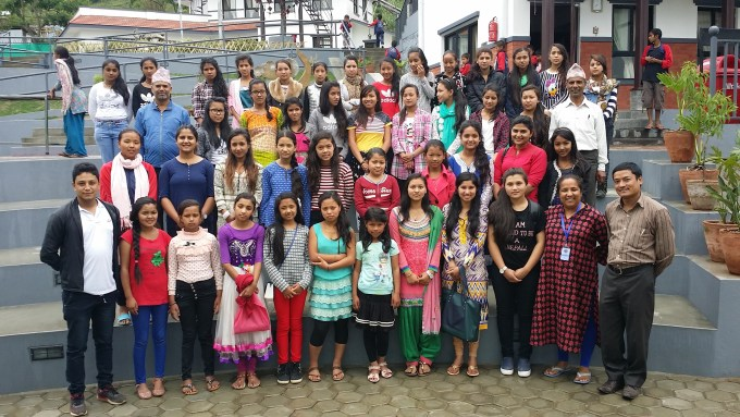 Group Picture with Pushpa Didi