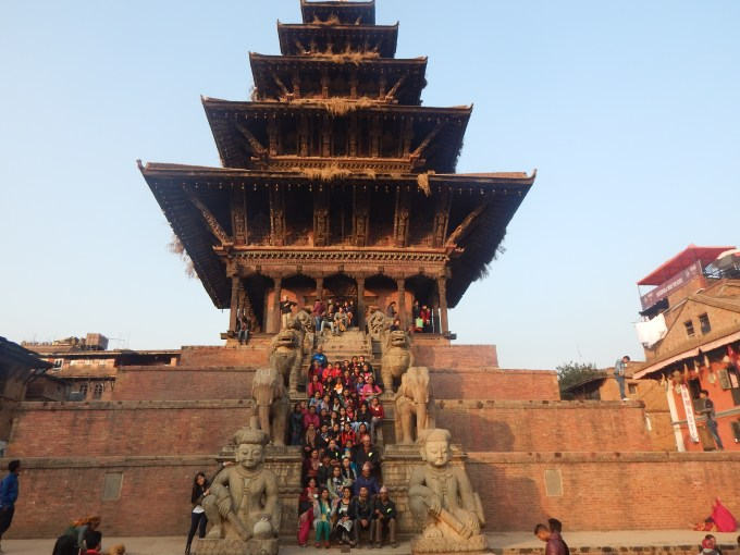 group-picture-during-field-trip-to-bhaktapur