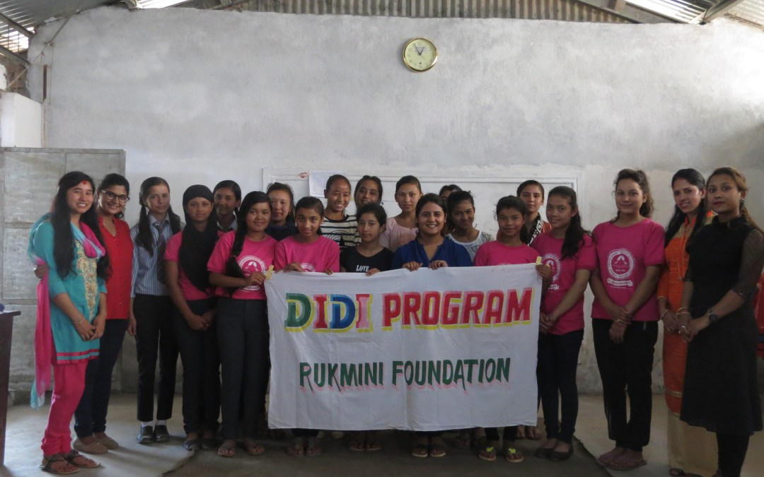 Prabritti Didi Inspires Girls to Community Service