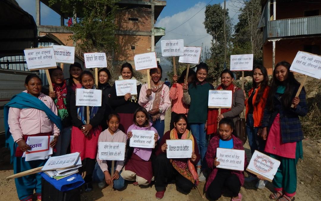 Rukmini Rallies Against Gender-Based Violence